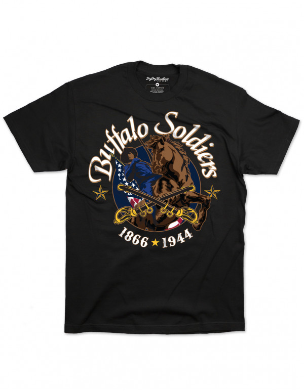 BUFFALO SOLDIERS GRAPHIC TEE