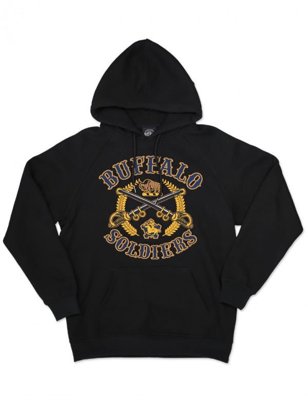 BUFFALO SOLDIERS PULLOVER HOODIE
