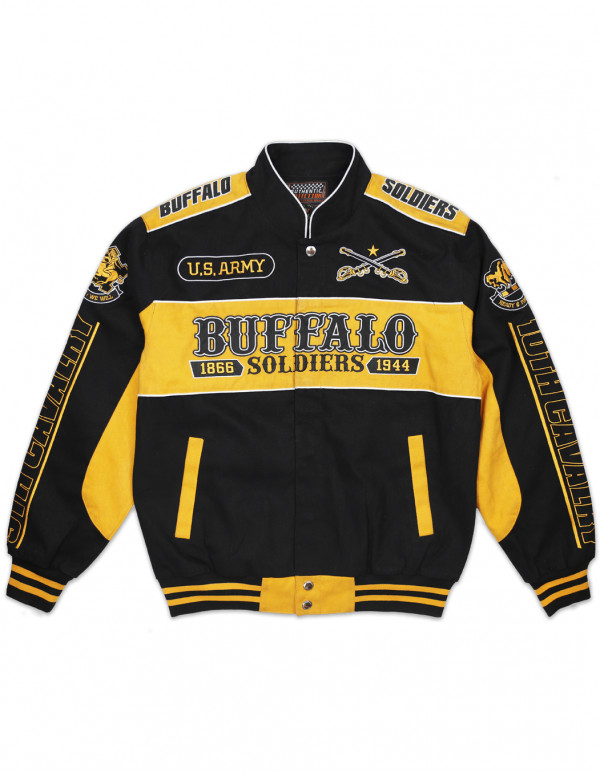 BUFFALO SOLDIERS TWILL JACKET