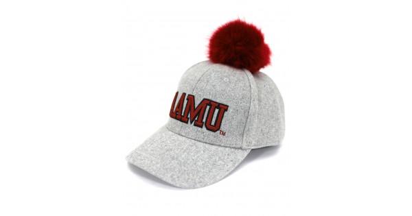 Alabama A/&M University Pom Pom Cap