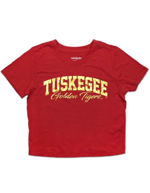 TUSKEGEE CROPPED TEE